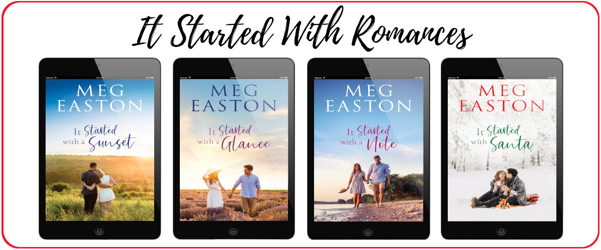 All 4 covers for It Started With Romances