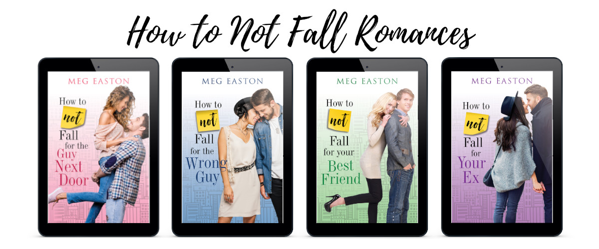 Covers for all 4 How to Not Fall books