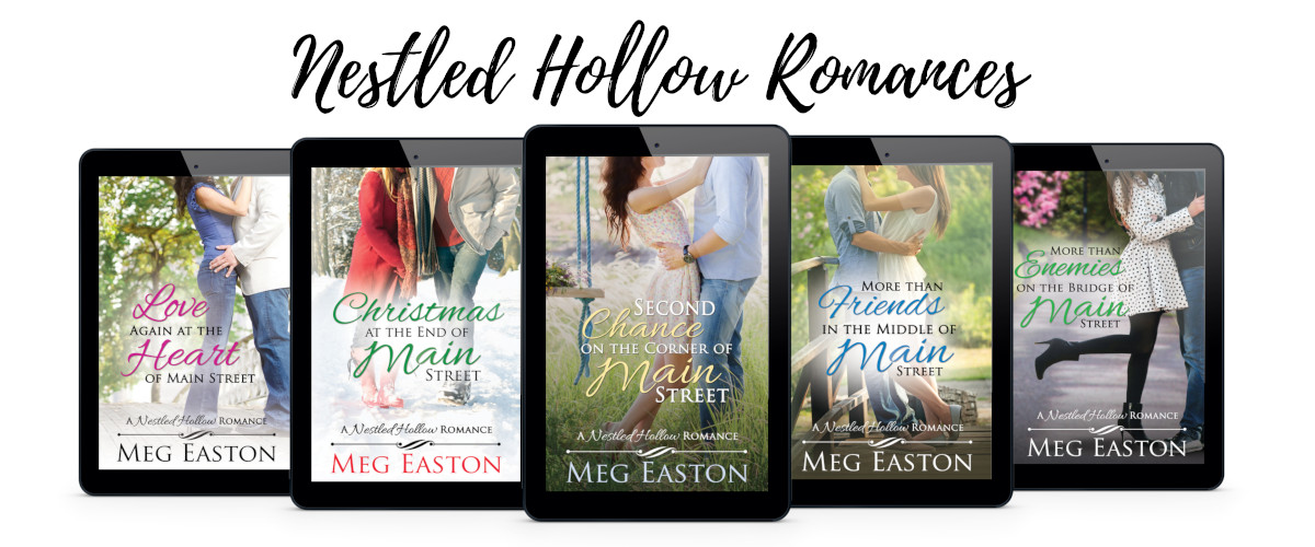 All 5 covers for the Nestled Hollow Romances
